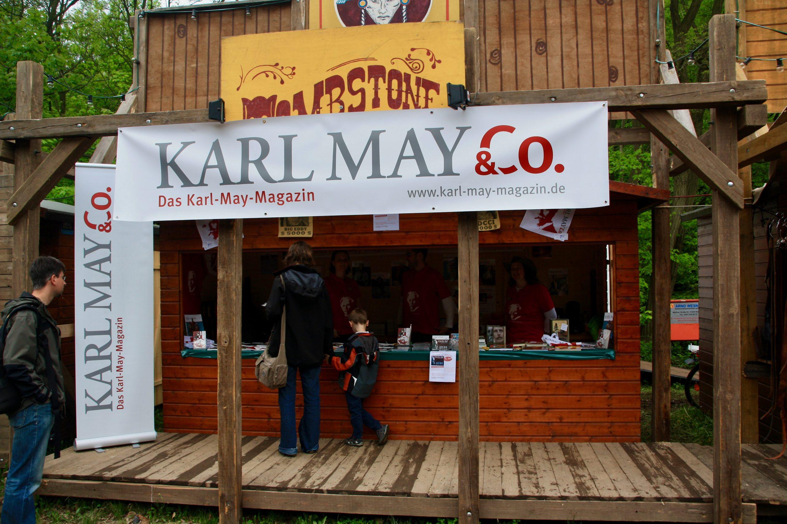 KARL MAY & Co. 2013 bei den Karl-May-Festtagen in Radebeul