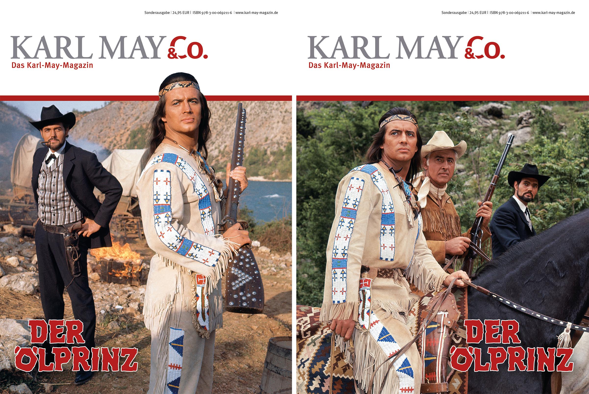 "KARL MAY & Co.-Sonderausgabe zum Winnetou-Film ""Der Ölprinz"""